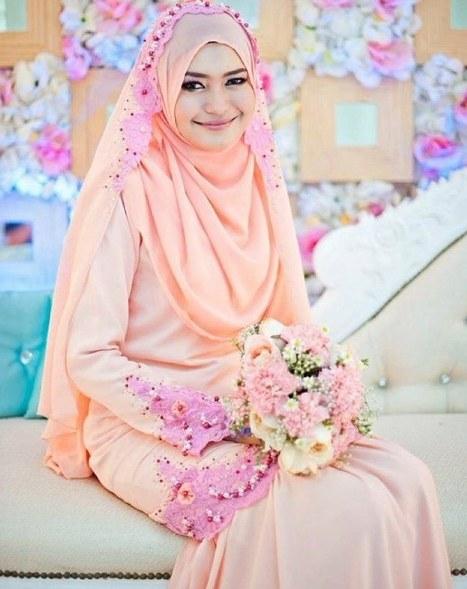 Ide Baju Pengantin Muslimah Malaysia Nkde 22 top Model Gaun Pengantin Malaysia