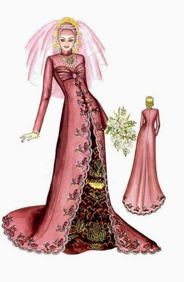 Ide Baju Pengantin Muslimah Malaysia Txdf Contoh Desain Baju Pengantin Muslimah Desain Pernikahan