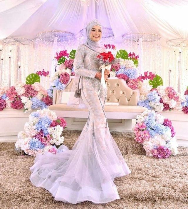 Ide Baju Pengantin Muslimah Malaysia Zwdg Gaun Pengantin Muslimah Simple Tapi Elegan Malaysia