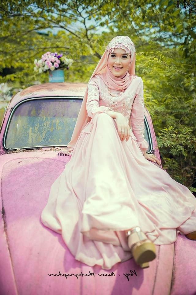 Ide Baju Pengantin Muslimah Modern E9dx Gambar Kebaya Muslim Akad Nikah