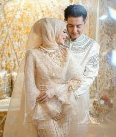Ide Baju Pengantin Muslimah Syari Mndw 12 Best Baju Tunang Images