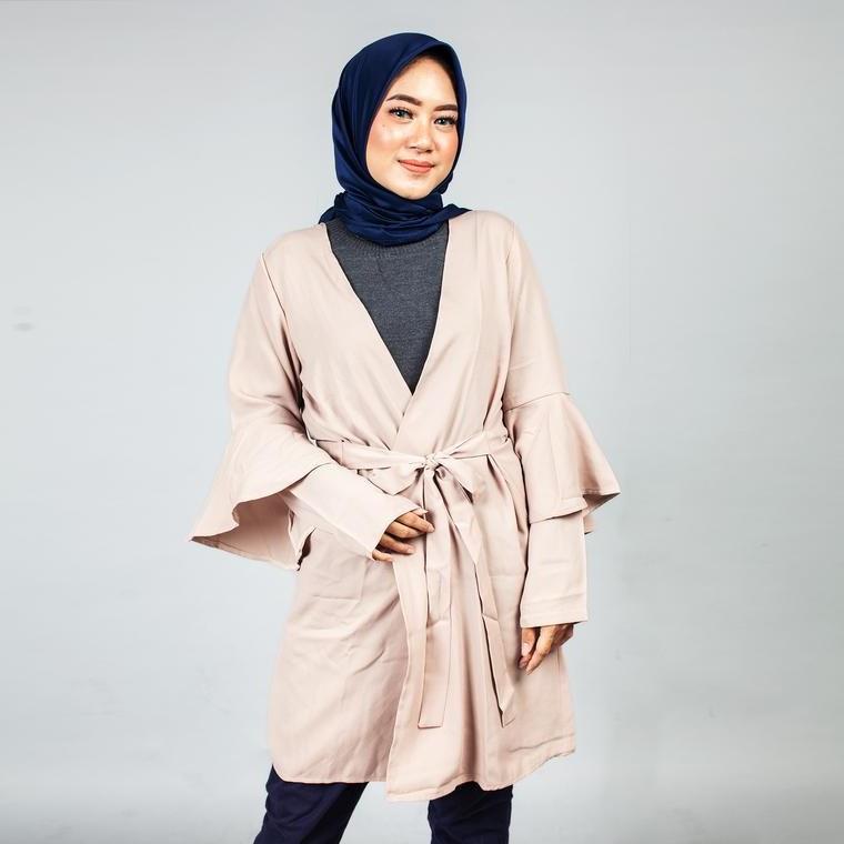 Ide Baju Pengantin Muslimah Syari Wddj Dress Busana Muslim Gamis Koko Dan Hijab Mezora