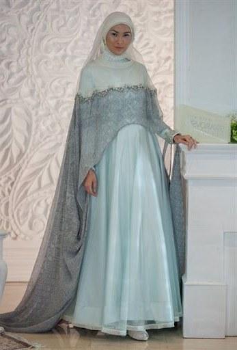 Ide Baju Pengantin Muslimah Syari X8d1 Model Gaun Pengantin Muslimah Terbaru Dan Syar I