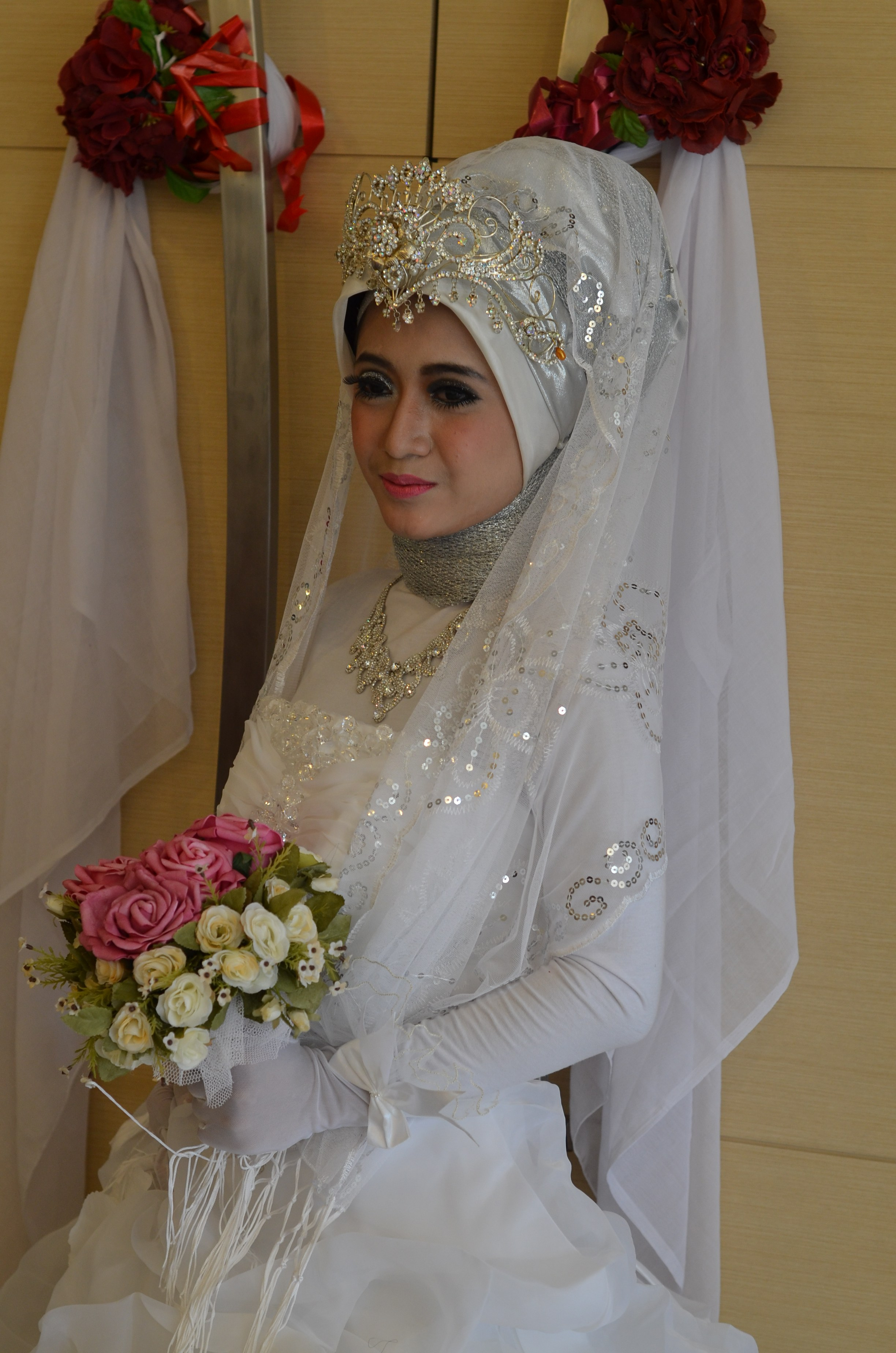 Ide Baju Pengantin Muslimah T8dj Gambar Baju Pengantin Download Gambar Wallpaper Terbaru