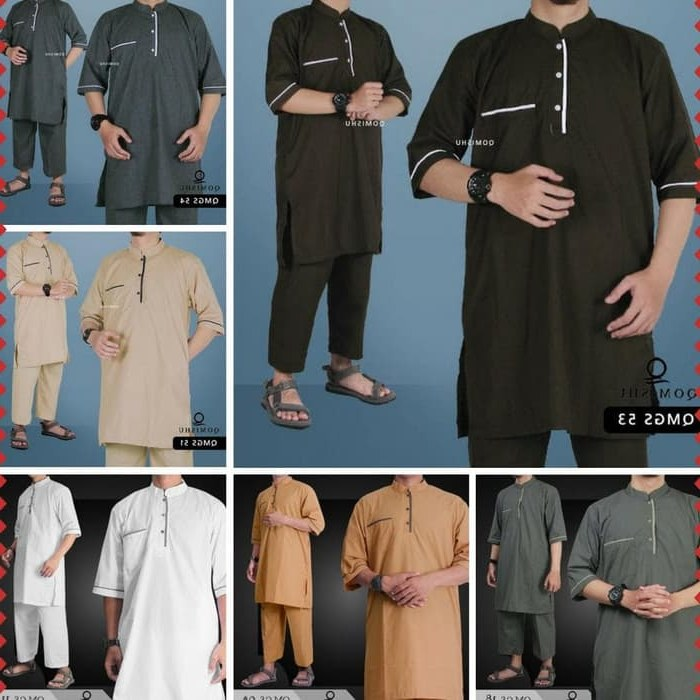 Ide Baju Pengantin Pria Muslim 9ddf Jual Baju Gamis Pria Muslim Koko Pakistan Setelan Lengan Pendek Qomishu Dki Jakarta Yudhi Ardiyanto