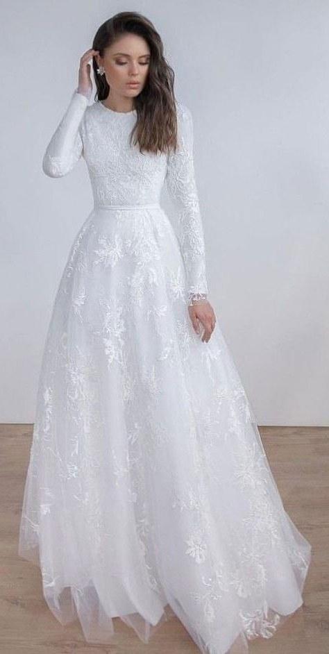 Ide Baju Pengantin Sederhana Muslimah 8ydm List Of Gaun Pengantin Putih Muslim Images and Gaun