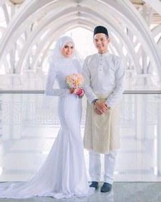 Ide Baju Pengantin Sederhana Muslimah S1du 48 Best Baju Nikah Images