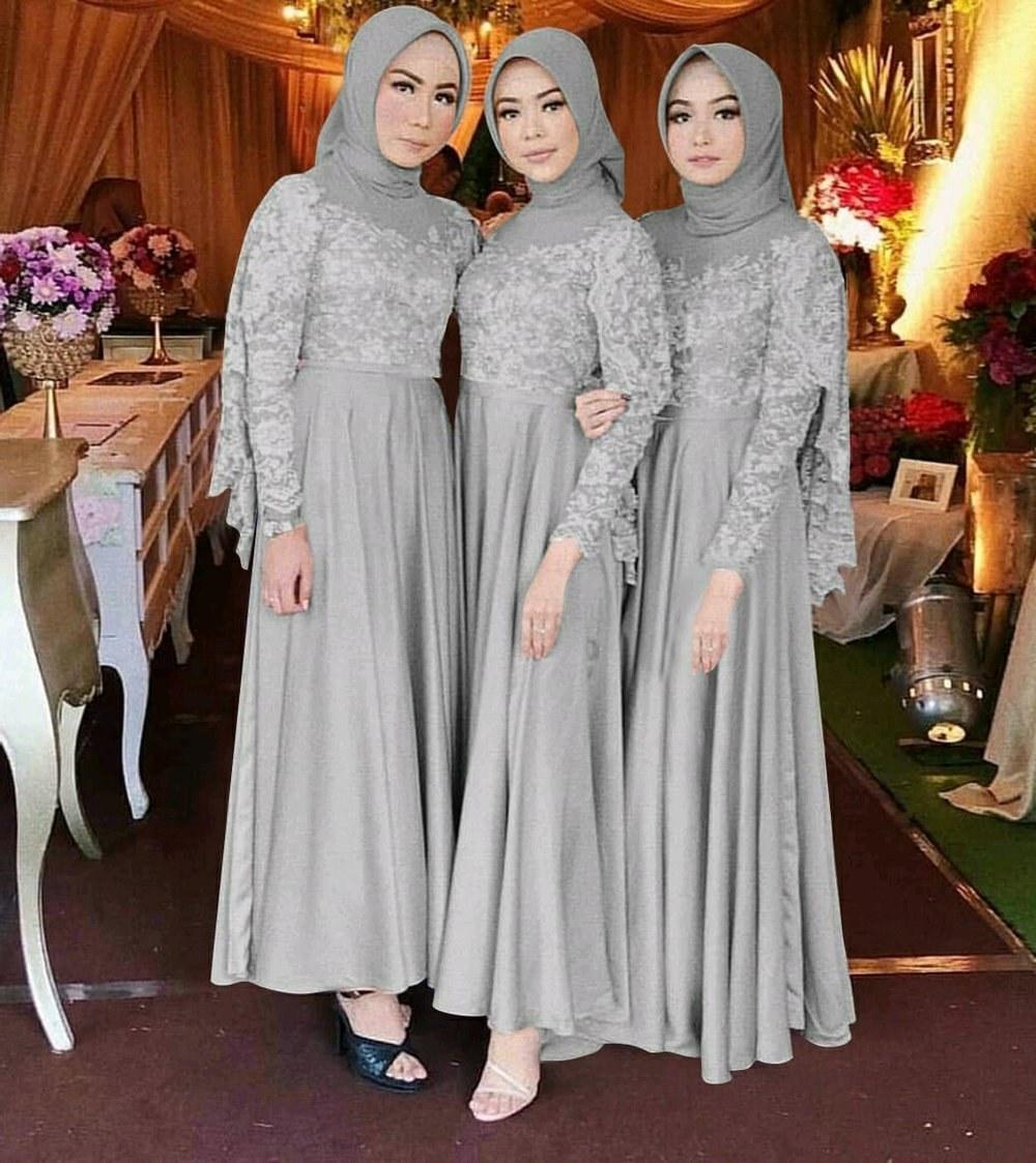 Ide Baju Pesta Pernikahan Muslimah Q0d4 Baju Pesta Baju Kekinian atasan Wanita Baju Dress Baju Muslim Baju Seragam