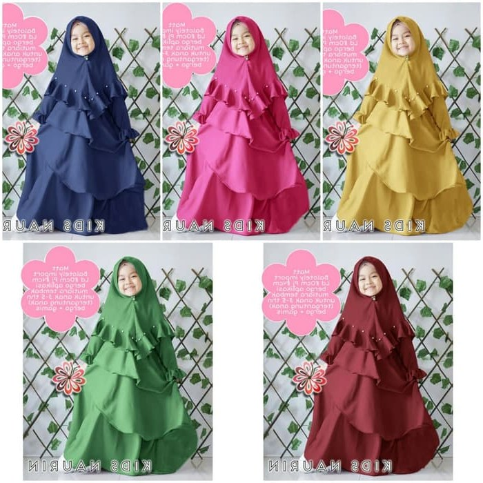 Ide Busana Muslim Pengantin 3ldq Jual Od Baju Busana Muslim Dress Setelan Anak Kid Cewek Syyen Kid Naurin Dki Jakarta Ferisna Os