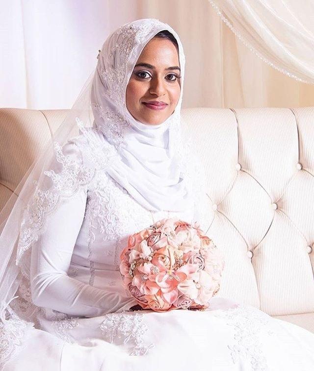 Ide Busana Muslim Pengantin E9dx We Re Loving Everything About This Bride Mashallah Perfect
