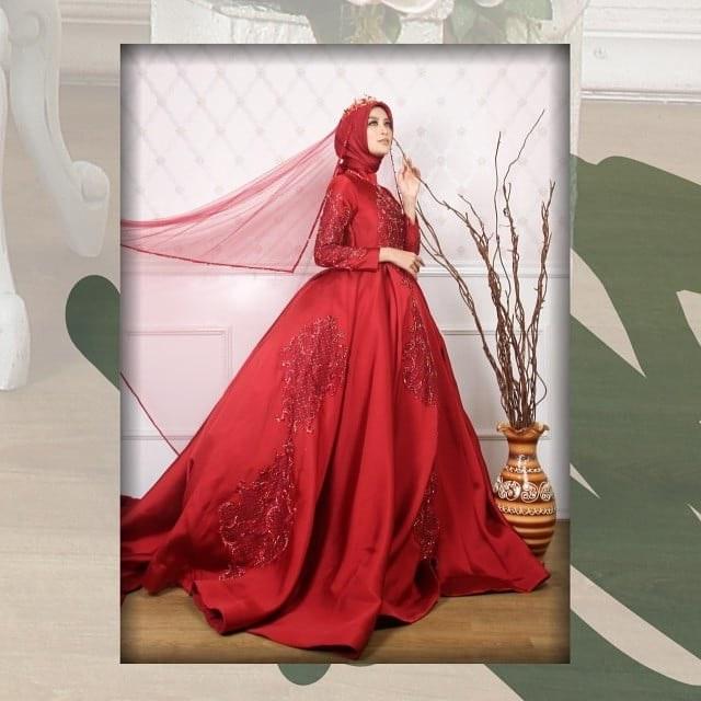 Ide Desain Gaun Pengantin Muslim Etdg Sewagaunakad Instagram Posts Photos and Videos Instazu