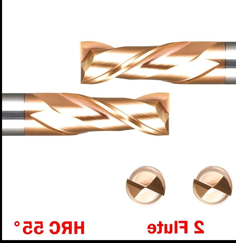 Ide Design Baju Pengantin Muslimah Nkde Od 3mm 4mm 5mm Hrc55 Tungsten Alloy solid Carbide 2 Flute