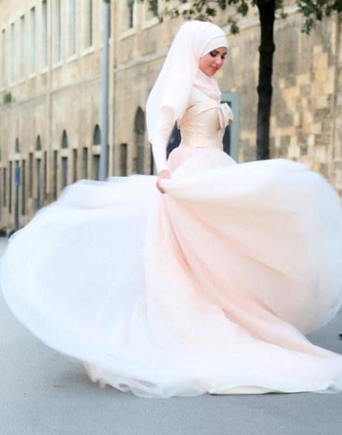 Ide Dress Pernikahan Muslimah D0dg Gaun Pengantin Muslimah for android Apk Download