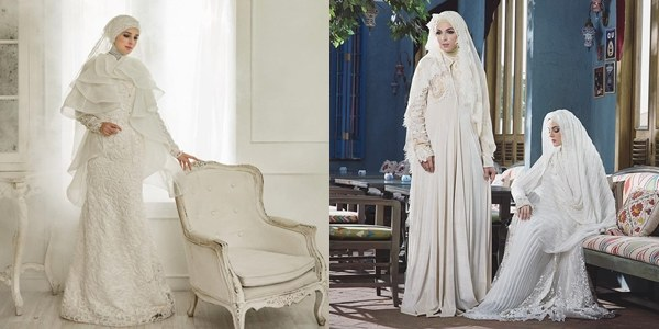 Ide Dress Pernikahan Muslimah Nkde 8 Desainer Wedding Dress Muslimah Indonesia Elegan Sempurna