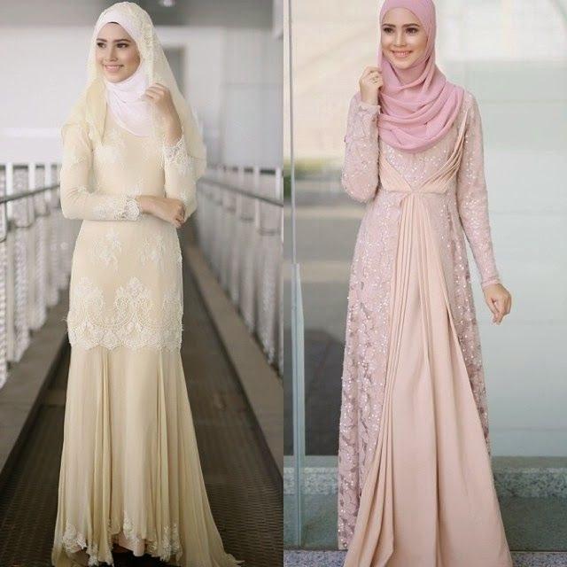 Ide Dress Pernikahan Muslimah Nkde Saya Bakal Pengantin Idea Baju Nikah