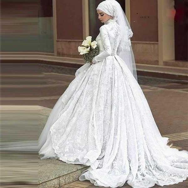 Ide Dress Pernikahan Muslimah Rldj Ide Wedding Dress Pernikahan Muslim for android Apk Download