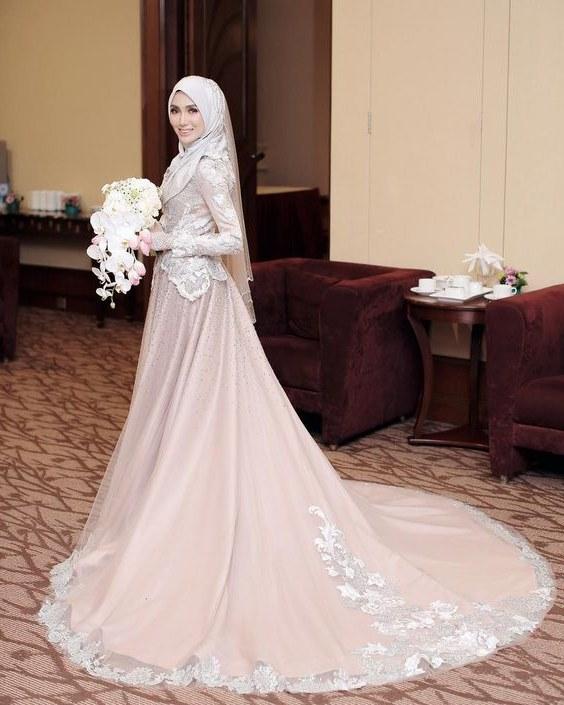 Ide Dress Pernikahan Muslimah X8d1 Inspirasi Baju Pengantin Muslimah Yang Bisa Kamu Tiru Untuk