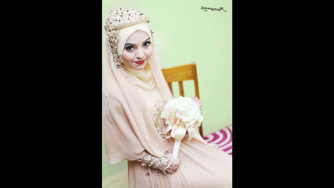 Ide Dress Pernikahan Muslimah X8d1 Syar I Wedding Dress