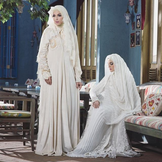 Ide Dress Pernikahan Muslimah Zwd9 8 Desainer Wedding Dress Muslimah Indonesia Elegan Sempurna