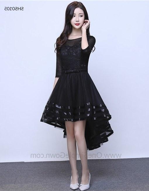 Ide Foto Baju Pengantin Muslim Bqdd 5 Colors Sleeveless Lace asymmetrical Dress