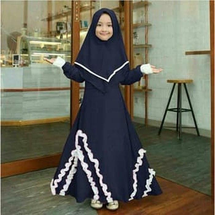 Ide Gambar Gaun Pengantin Muslim Zwd9 Jual [citra 88 Busana] Baju Muslim Anak Syari Kid Wolly Crepe Nour Od Dki Jakarta Citra 88 Busana