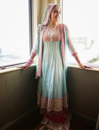 Ide Gaun Pengantin India Muslim 4pde Pakistani Bridal Dress