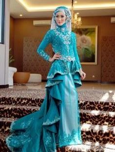 Ide Gaun Pengantin Kebaya Muslim Modern Gdd0 Hijab Style for Wedding Wedding Dresses