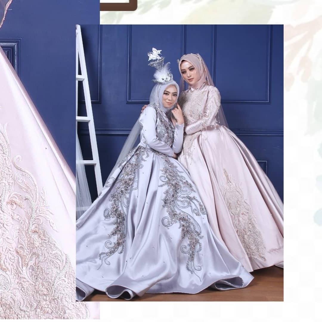 Ide Gaun Pengantin Muslimah 2019 O2d5 Posts Tagged as Sewagaunakad