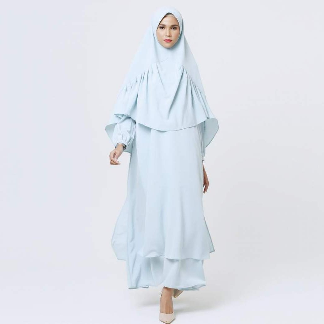 Ide Gaun Pengantin Muslimah 2019 S5d8 Cek Harga Mayra Selvia Syari Pakaian Muslim Bulan Ini
