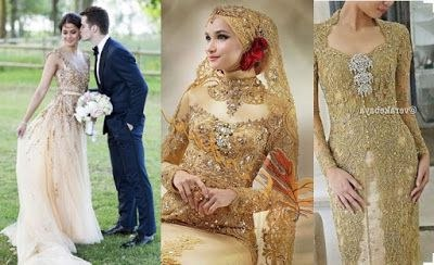 Ide Gaun Pengantin Muslimah Brokat T8dj Grosir Brokat Sangkara Model Gaun Dan Kebaya Pernikahan