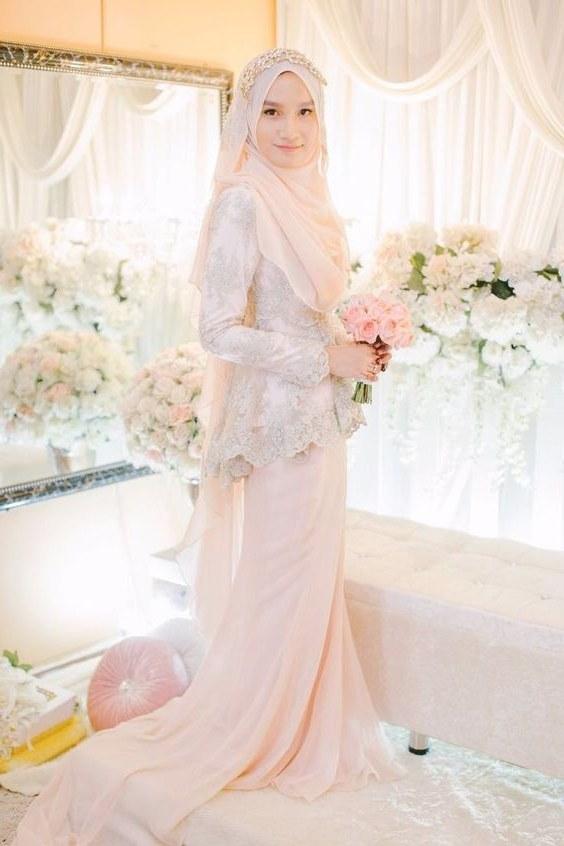 Ide Gaun Pengantin Muslimah Brokat Zwdg Inspirasi Baju Pengantin Muslimah Yang Bisa Kamu Tiru Untuk
