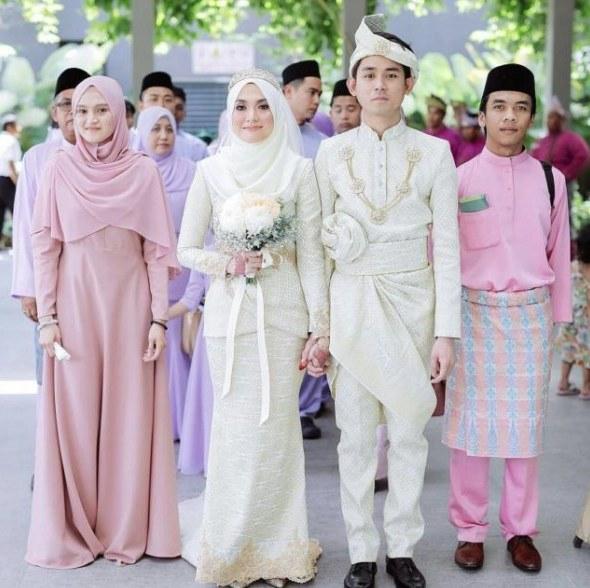 Ide Gaun Pengantin Muslimah Malaysia Thdr Kebaya Muslim Malaysia