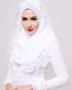 Ide Gaun Pengantin Muslimah Malaysia Wddj 145 Best Baju Nikah Putih Images In 2019