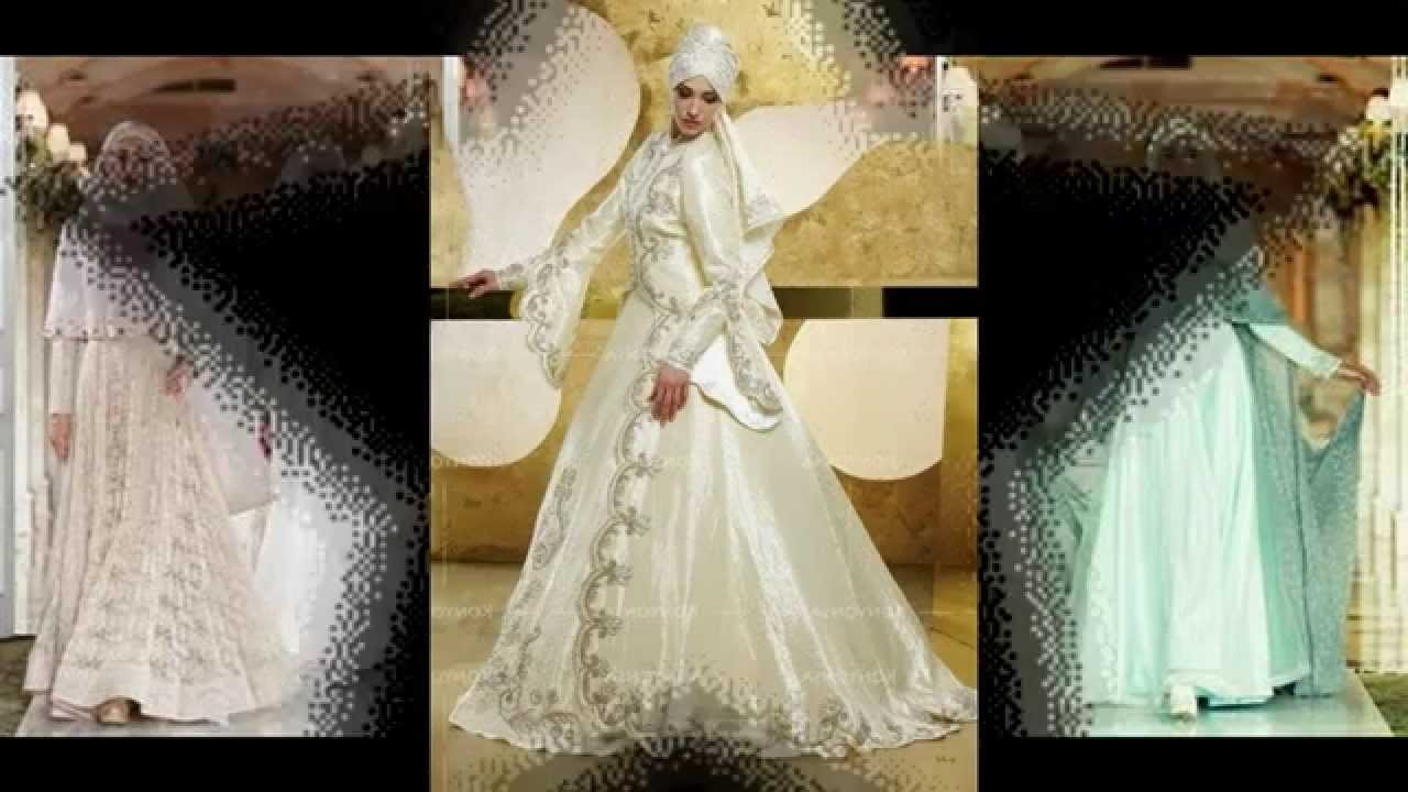Ide Gaun Pengantin Muslimah Syar'i 9fdy Model Terbaru Gaun Pengantin Muslimah 2015 2016