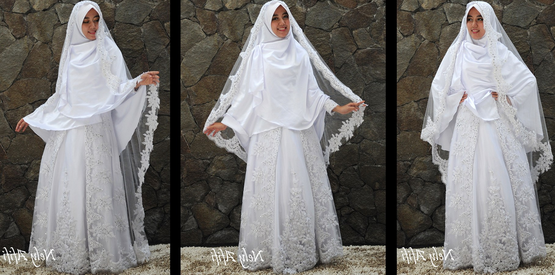 Ide Gaun Pengantin Muslimah Syar'i Bqdd Wear evening Dress In the Fice – Get Tips for Dressing