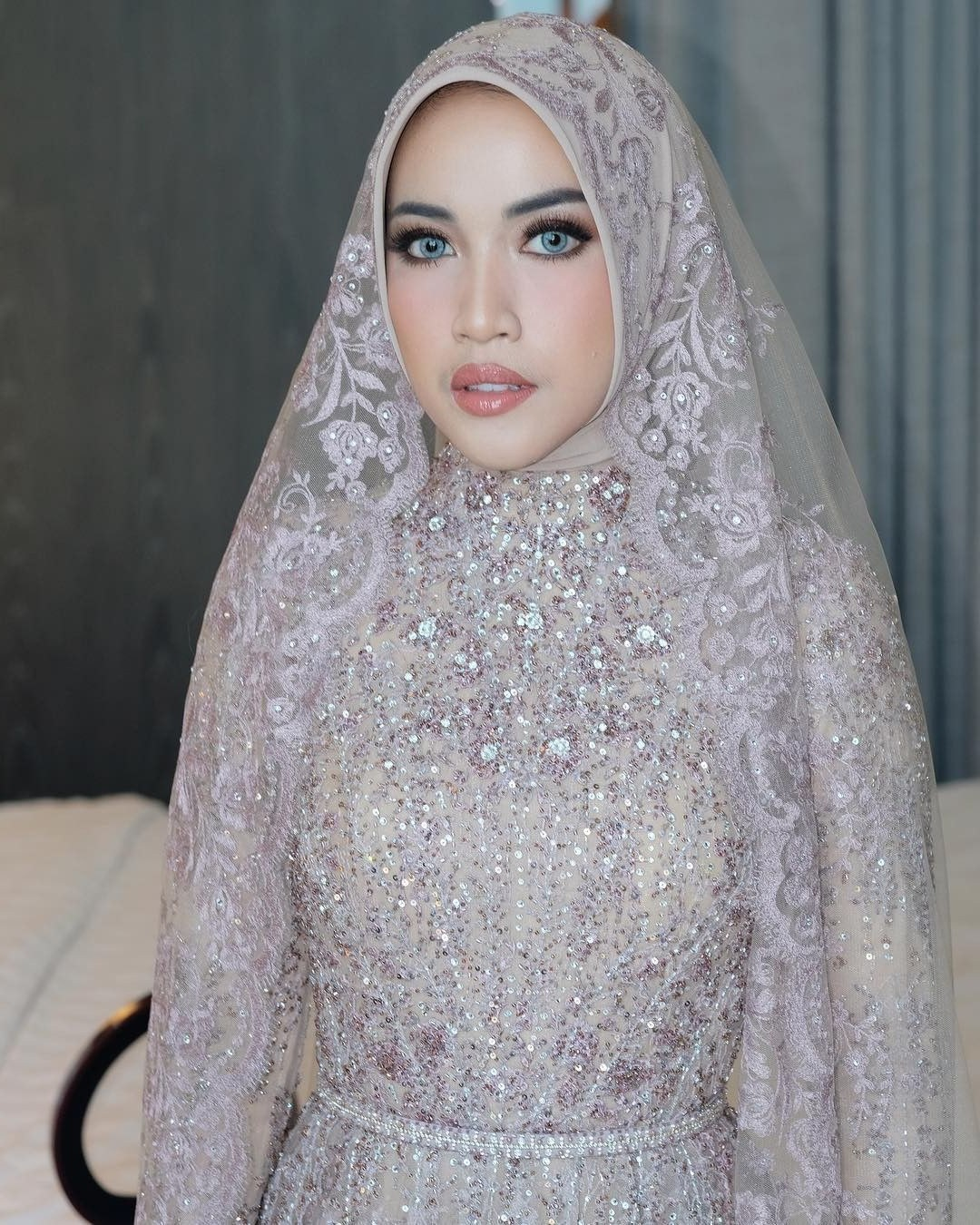 Ide Gaun Pengantin Muslimah Syar'i Dddy Pengantin Muslimah Wedding