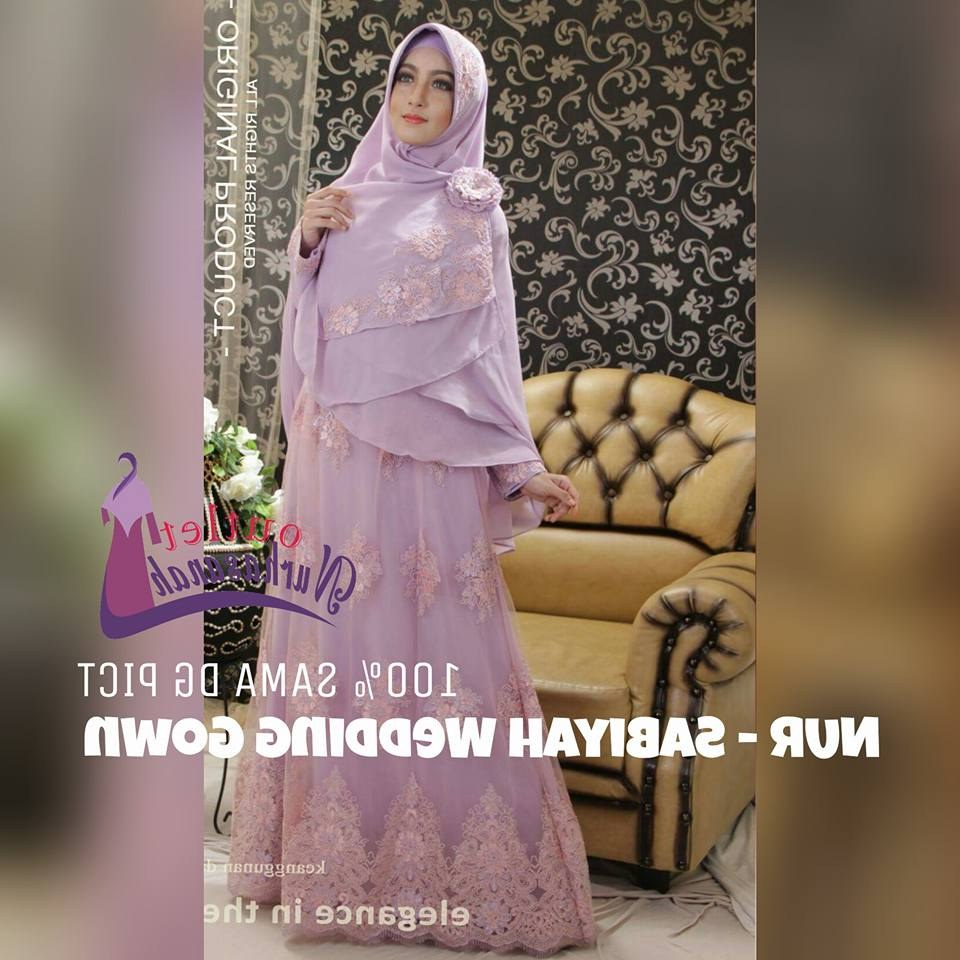 Ide Gaun Pengantin Muslimah Syar'i E9dx Baju Pengantin Muslim Syar I Sederhana Inspirasi Pernikahan