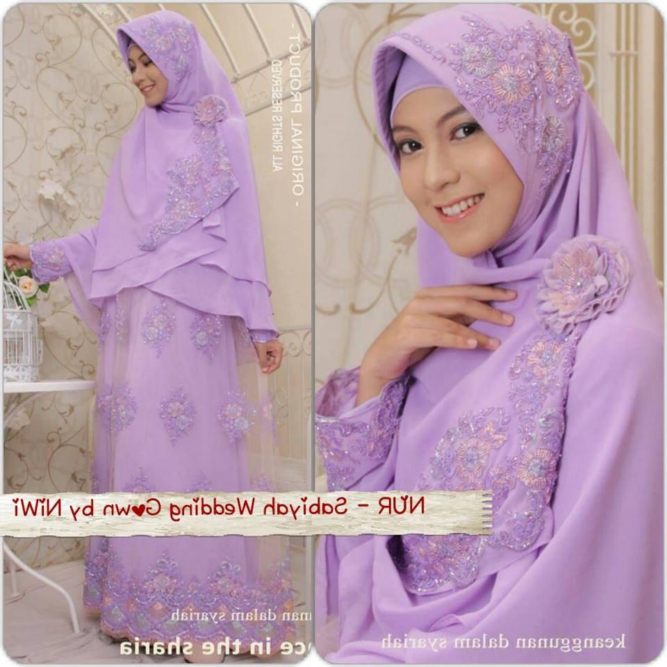 Ide Gaun Pengantin Muslimah Syar'i S5d8 Baju Pengantin Muslim Syar I Sederhana Inspirasi Pernikahan