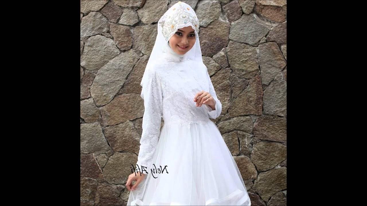 Ide Gaun Pengantin Muslimah Syar'i S5d8 Gaun Pengantin Muslimah Designer