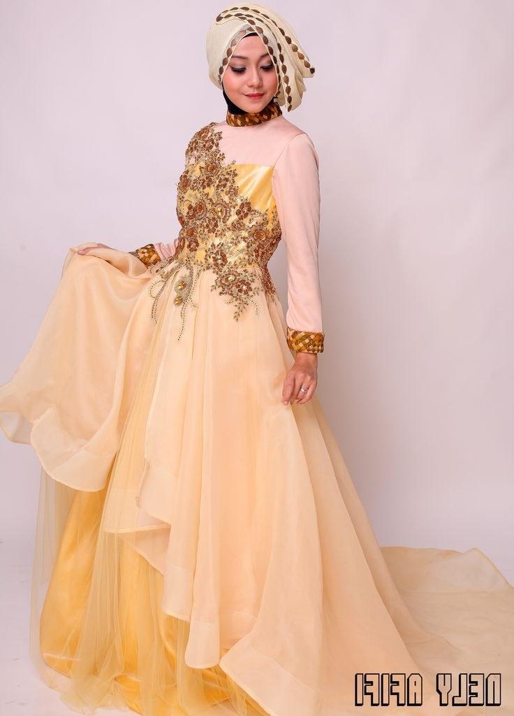 Ide Gaun Pengantin Muslimah Syar'i Whdr 10 Best Gaun Pesta Brocade Images On Pinterest