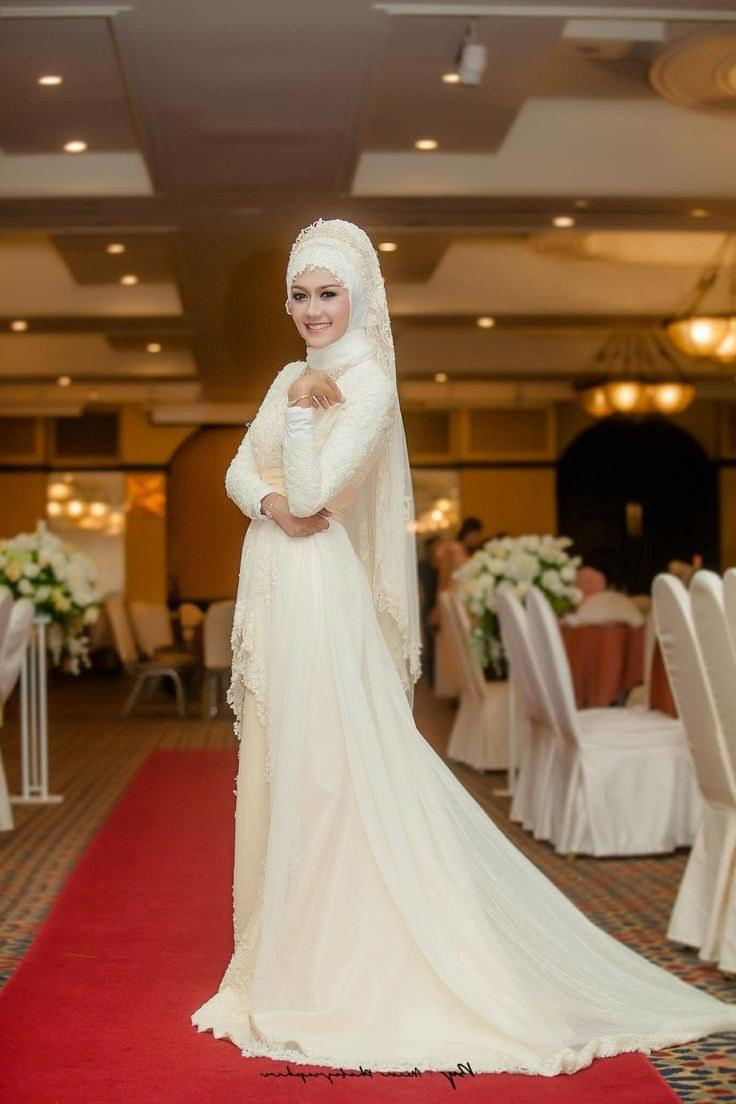 Ide Gaun Pengantin Muslimah Yang Syar'i Ffdn 1000 Ideas About Hijab Wedding Dresses On Pinterest