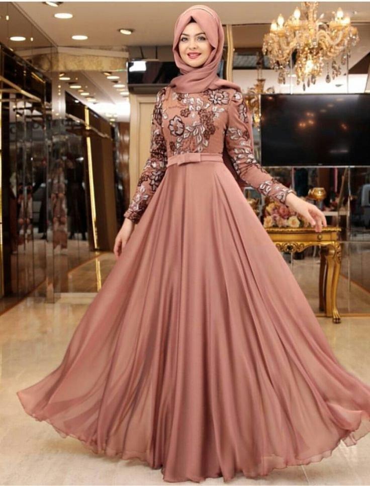 Ide Gaun Pengantin Muslimah Yang Syar'i Fmdf Muslim Fasion Clothes