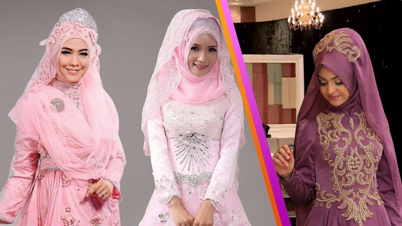 Ide Gaun Pengantin Muslimah Yang Syar'i Wddj Gaun Pengantin Muslimah Simple Syar I Dan Modern