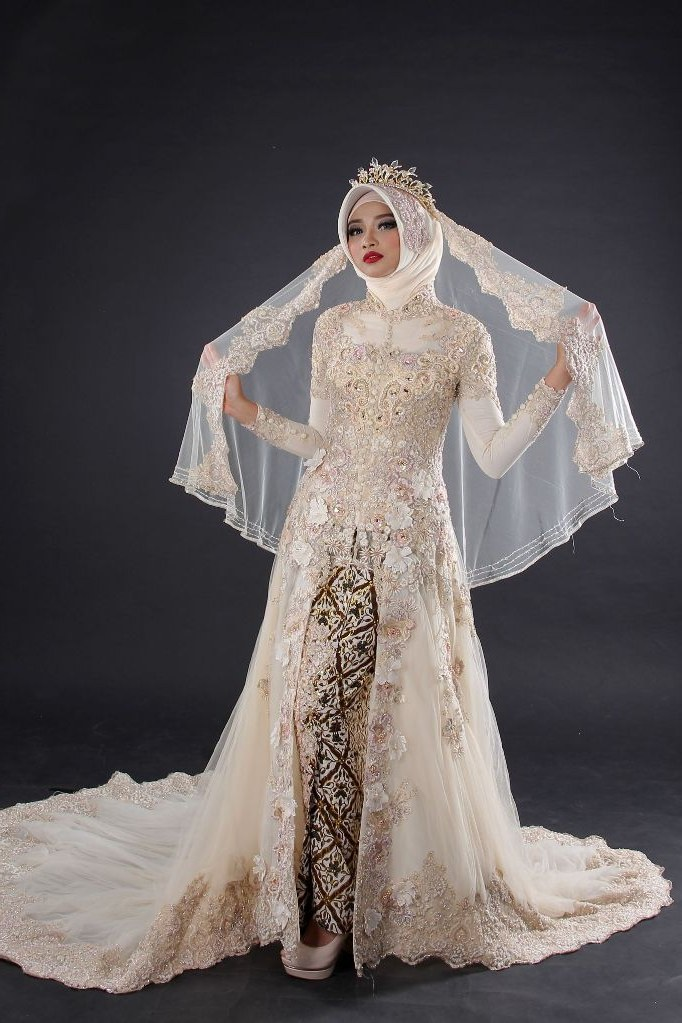 Ide Gaun Pengantin Muslimah Yang Syar'i X8d1 14 Model Baju Pengantin 2018 Terbaru Desain Modern Mewah