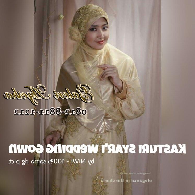 Ide Jual Baju Pengantin Muslimah Syar'i Drdp Baju Pengantin Muslimah Modern Kasturi Syar'i Wedding Gown