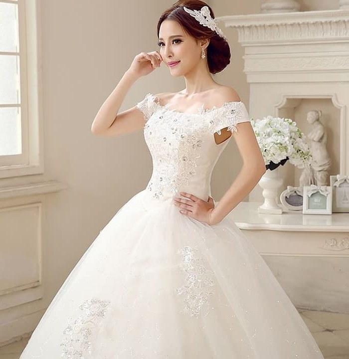 Ide Jual Baju Pengantin Muslimah Syar'i Fmdf Jual Gaun Pengantin Baju Pengantin Modern Baju Wedding