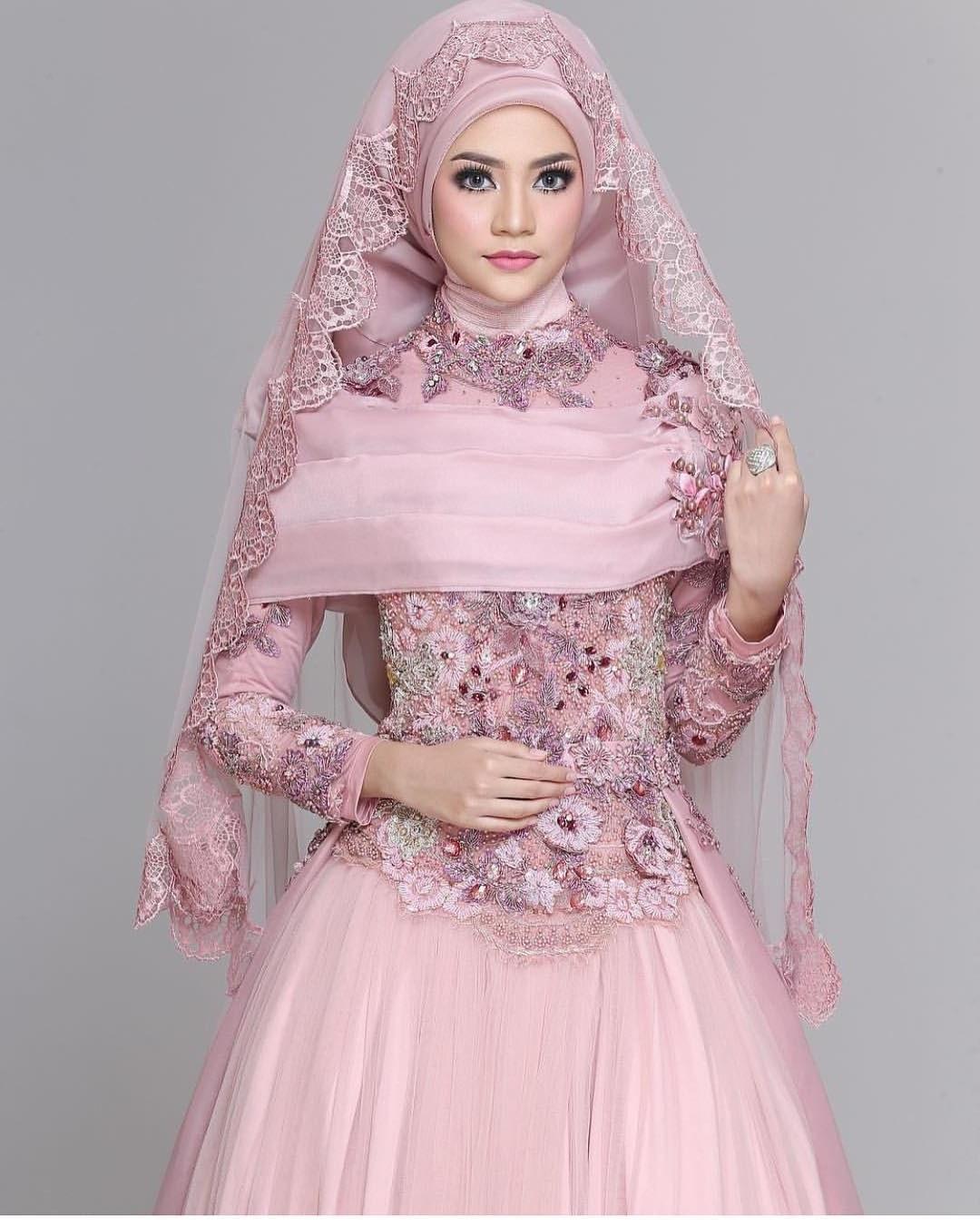 Ide Jual Baju Pengantin Muslimah Syar'i H9d9 30 Model Baju Gamis Pengantin Muslimah Fashion Modern