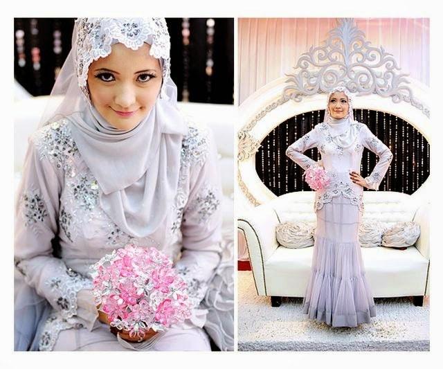 Ide Jual Baju Pengantin Muslimah Syar'i O2d5 Kebaya Pengantin Muslimah Model Terbaru 2015