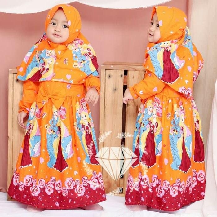 Ide Jual Gaun Pengantin Muslimah Murah Tldn Jual Od 5 Wrn Baju Gamis Busana Muslim Rok Anak Kid Murah Princess Disney Dki Jakarta Ferisna Os
