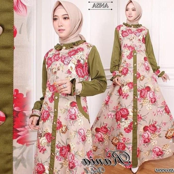 Ide Jual Gaun Pengantin Muslimah Murah Whdr Jual Ths99 Baju Muslim Murah Gamis Muslim original Rania Dress Maxi Kab Bandung Muslimfashions02